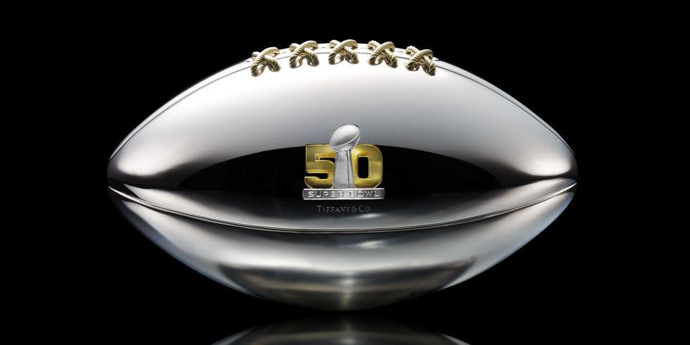 Super Bowl 50, Designer Football, Tiffany & Co.