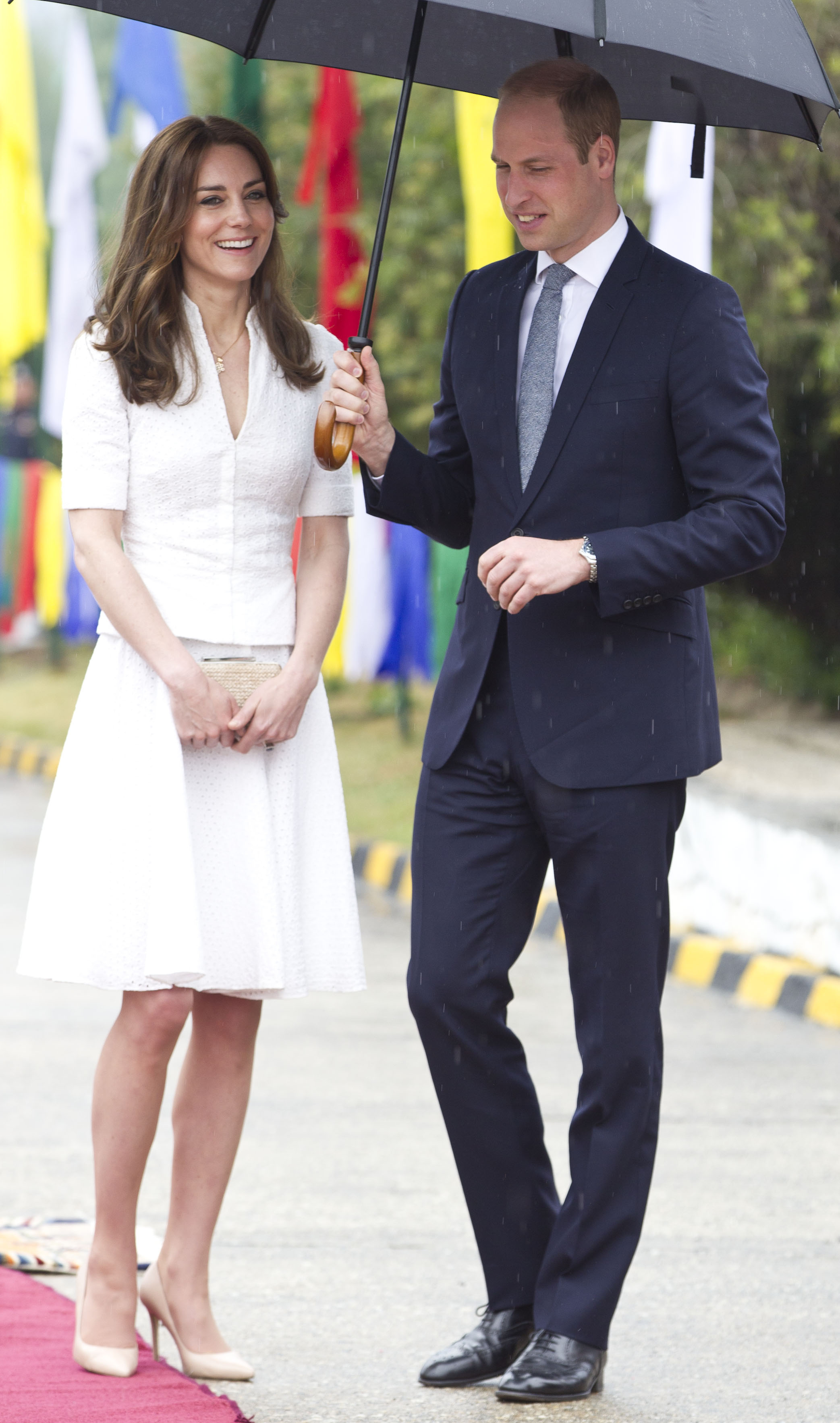 Kate Middleton S Outfits From Her Visit To India And