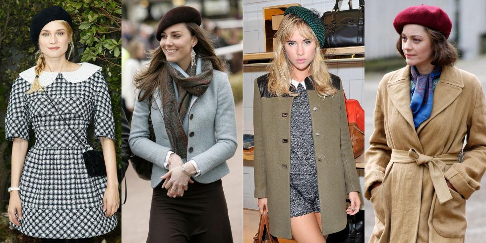 Um grampo de estilo parisiense, a boina é um topper chique para aqueles que procuram para canalizar sua garota francesa interior.