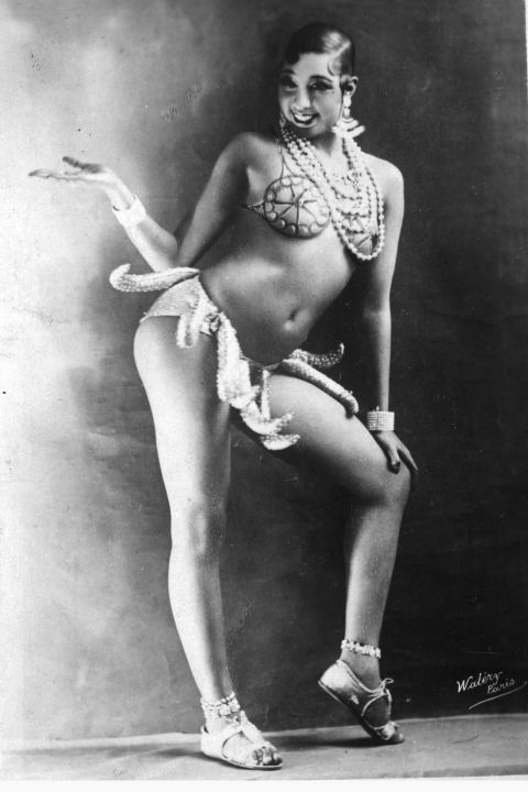 So technically not a dress, but Josephine Baker's banana girdle from her famed 'banana dance' caused her to become an overnight sensation when she moved to Paris in the 1920s.