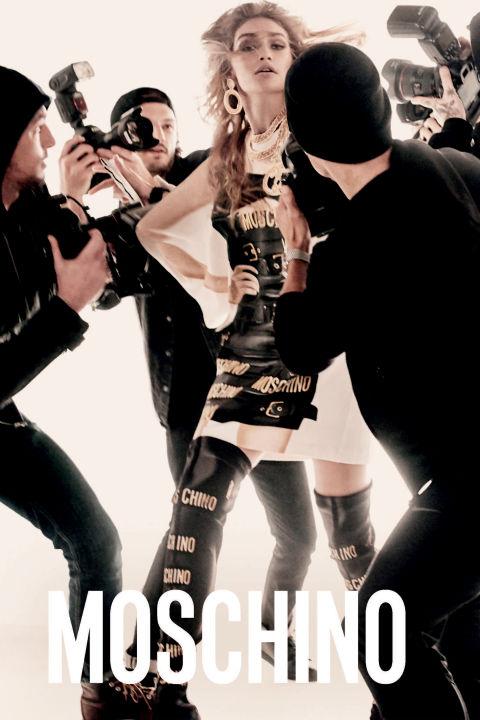 Model: Gigi Hadid Photographer: Steven Meisel