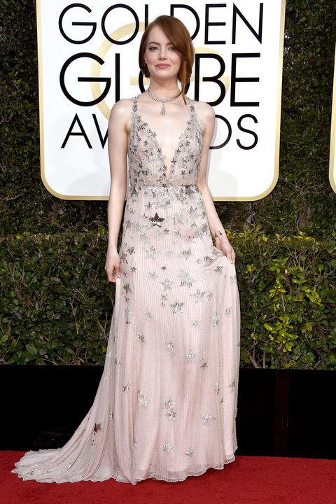 Emma Stonein Valentino Haute Couture