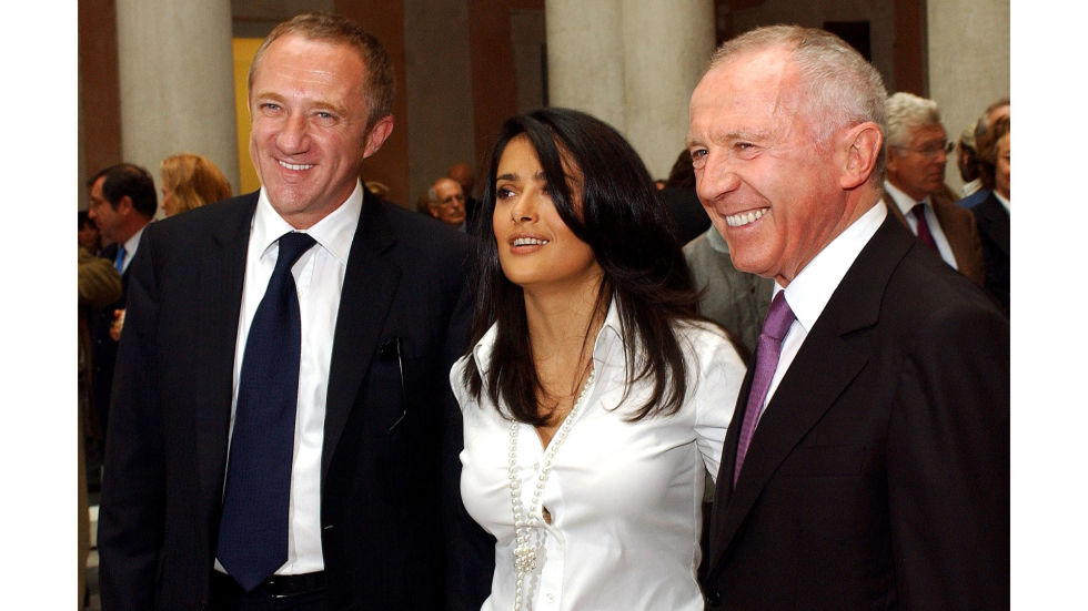 PPR, now known as Kering, was founded in 1963 by businessman François Pinault. Son François-Henri Pinault joined the Pinault Group in 1987, where he held positions in several of the Group's operating businesses before joining the executive board. In 2000, he became deputy CEO of Kering, which owns Gucci, Balenciaga and McQueen, among other luminous labels. Pinault is married to actress Selma Hayek and they have one daughter together.