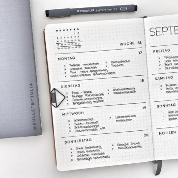 Bullet Journal Fonts