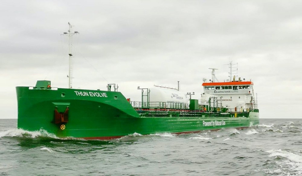 Gasum: Green gas shipping