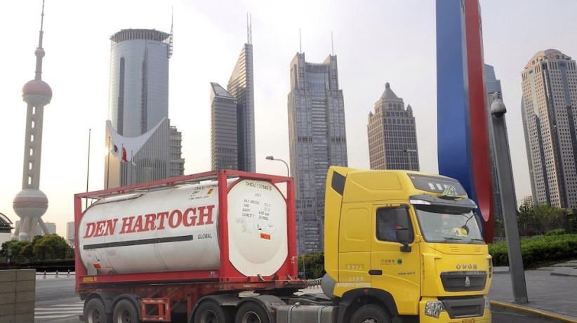 Den Hartogh makes China move