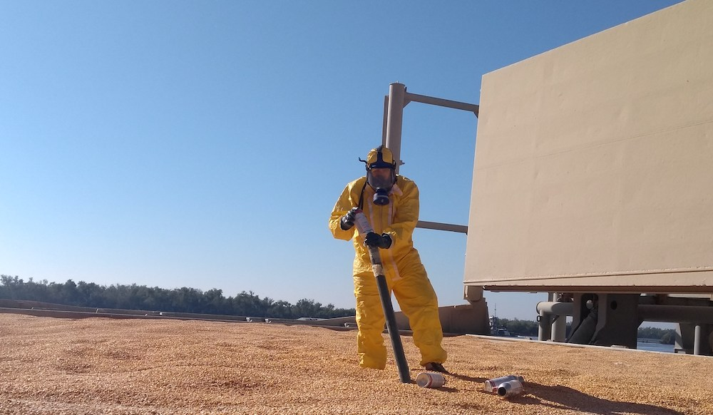 Fumigation: Clearing the air