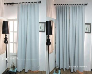 吊帶式窗簾