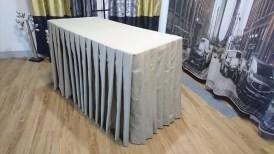 立體桌罩-百褶