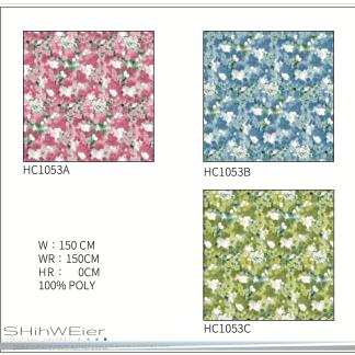 DIGI-PRINT CUSHION-HC1053 abstract floral