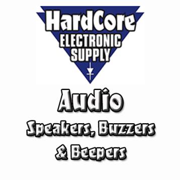 Audio - Speakers, Buzzers, Beepers