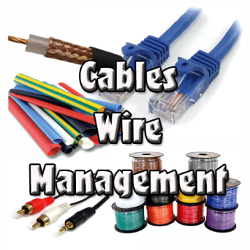 Cable, Wire, Managment