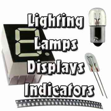 Lighting, Lamps, Displays and Indicators