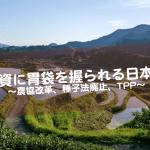 日本人の胃袋は日に日に外国に握られていく