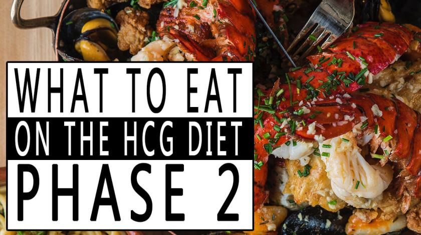 What to Eat on the HCG Diet Phase 2