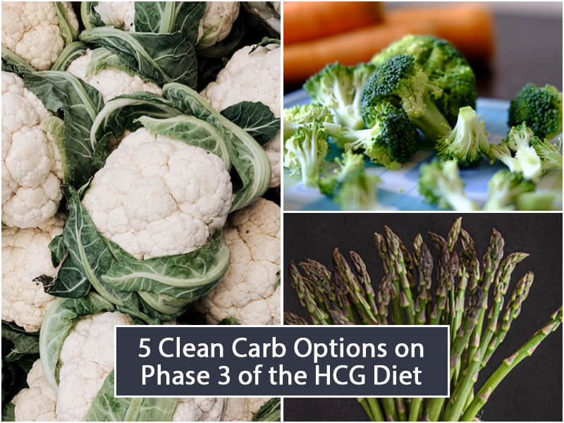 5 Clean Carb Options on Phase 3 of the HCG Diet