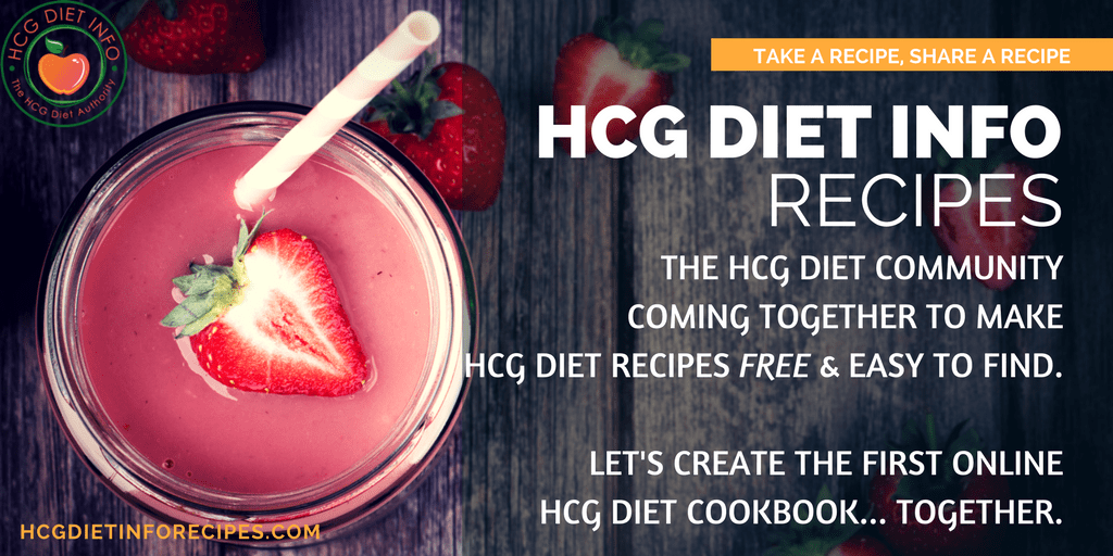 HCG DIET INFO RECIPES COOKBOOK