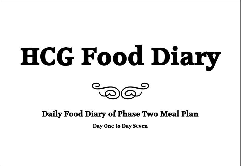 hcg-food-diary-pg1