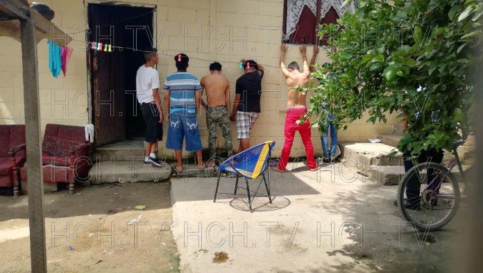 ¡ Seis Detenidos ! durante allanamientos en col. Canadá #Choloma