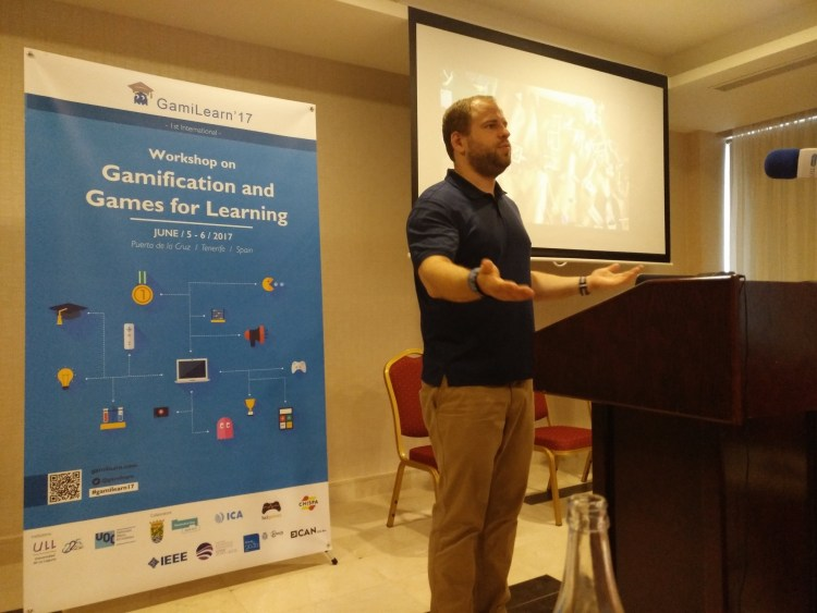 The Five Gamification Languages keynote at the GamiLearn'17 conference in Tenerife.