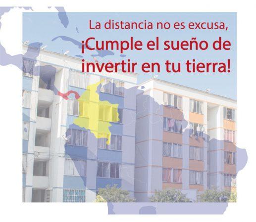 Compar apartamentos en Colombia desde el exterior