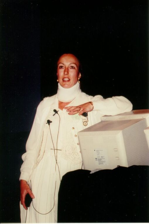 Mountford at the ACM CHI Conference on Human Factors in Computing Systems in Atlanta, GA in March 1997.