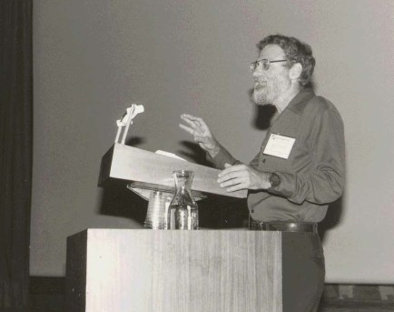Norman at the INTERACT IFIP Conference in 1984