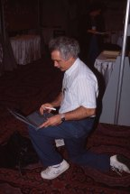 Winograd at the ACM CHI Conference on Human Facotrs in Computing Systems in Boston, MA in April 1994.
