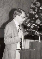 Olson at the Empirical Studies of Programmers Conference in Washington, DC in December 1987.