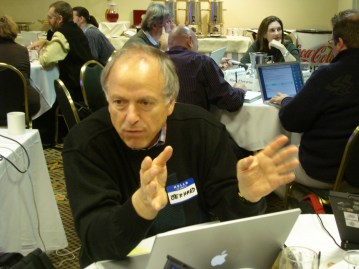 Fischer at the National Science Foundation Creativity Conference at the University of Colorado on November 3, 2006.