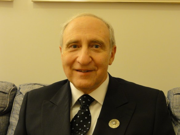 Ben Shneiderman at his induction into the National Academy of Engineering in Washington, DC in October 2010.