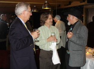 Foley, Jonathan Grudin, and Don Patterson at the ACM CHI Conference on Human Factors in Computing Systems in Portland, OR on April 5, 2005.