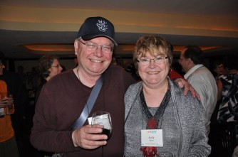 Gary and Judy Olson at the ACM CHI Conference on Human Factors in Computing Systems in Austin, TX, May 5-10, 2012.