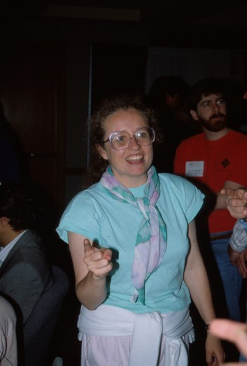 Kellogg at the ACM CHI Conference on Human Factors in Computing Systems in New Orleans, LA in April 1991.