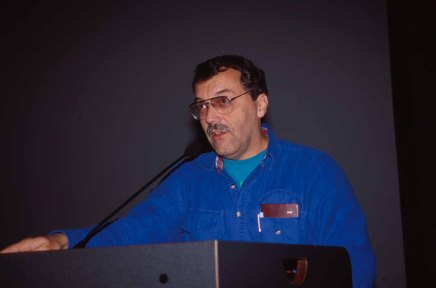 Thomas at the ACM CHI Conference on Human Factors in Computing Systems on April 24, 1994 in Boston, MA.