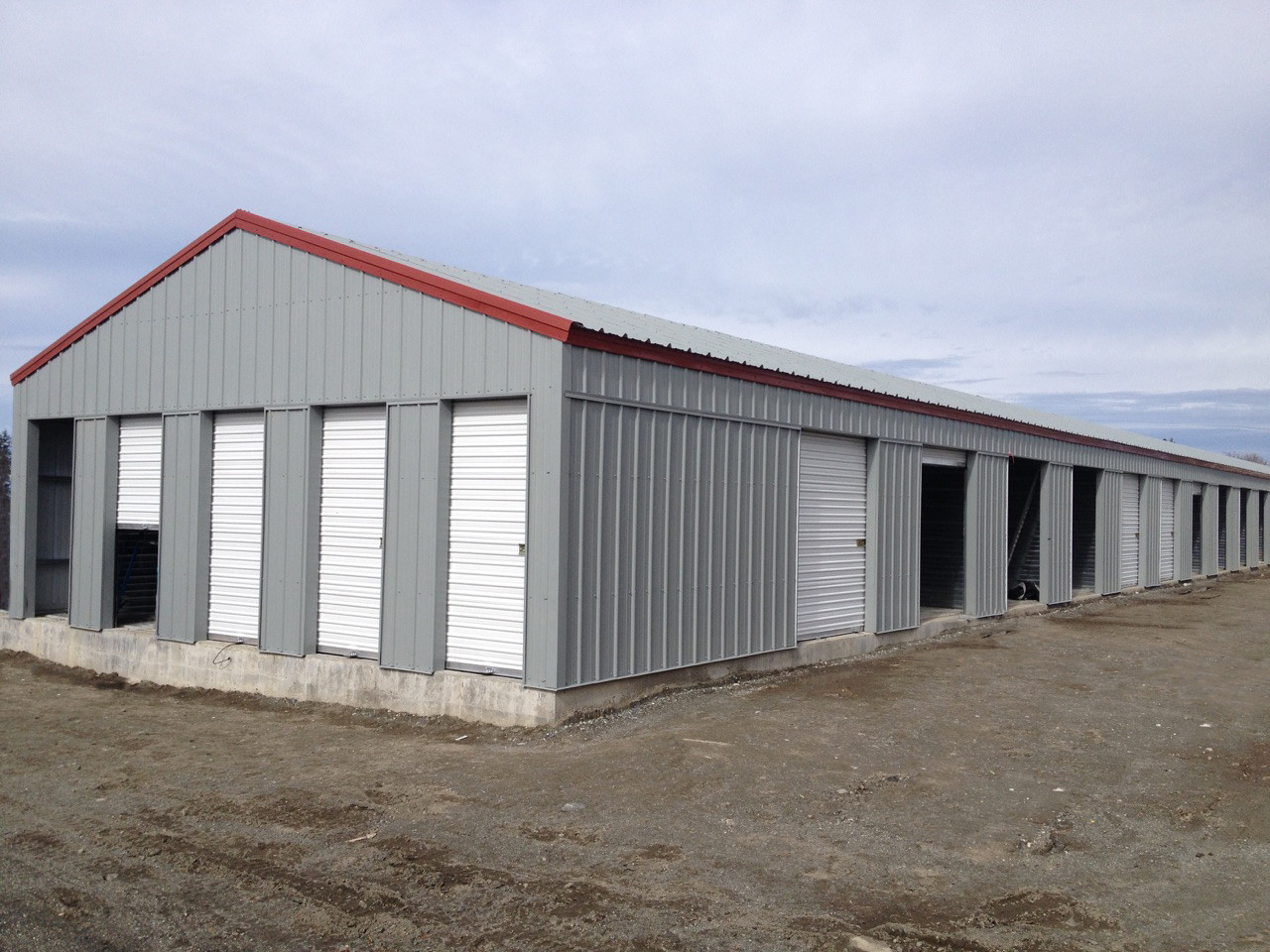 Hci steel manufactures and builds metal storage units for Sheds and storage units