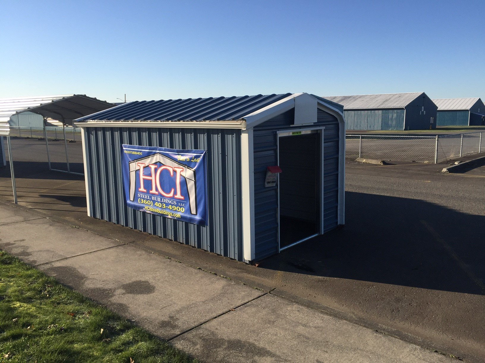 Hci Steel Buildings Offers Custom Metal Storage Units