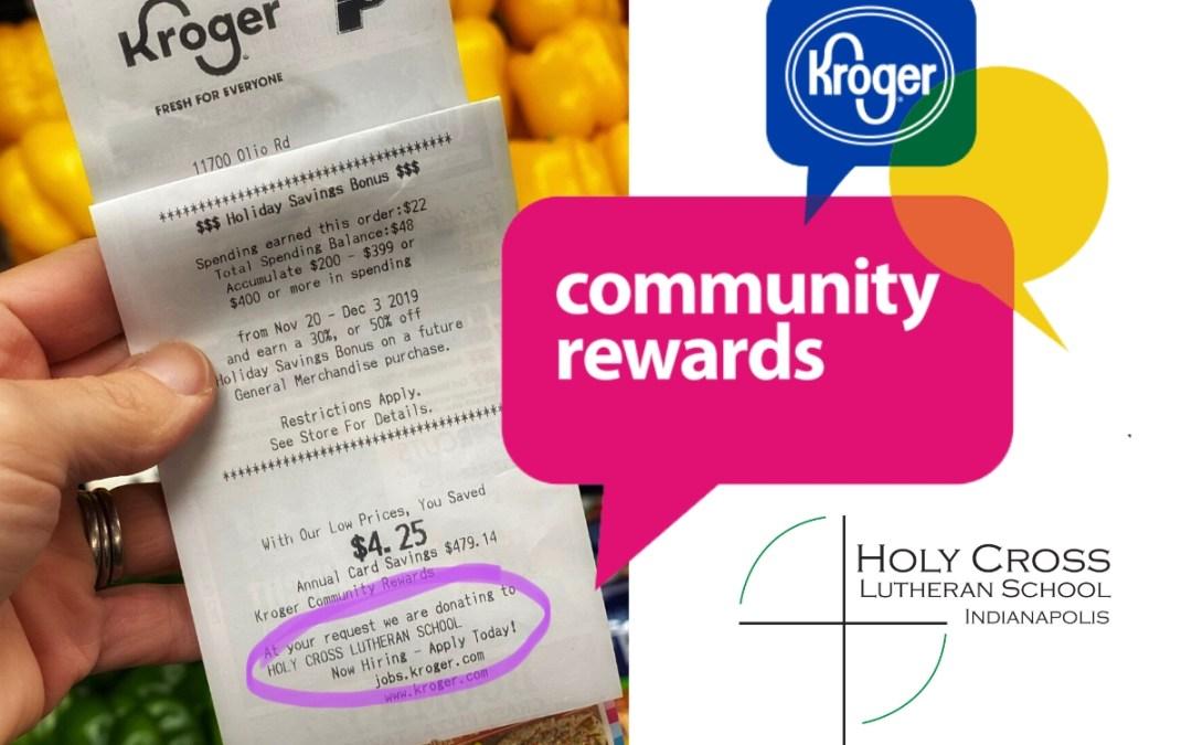 Kroger Community Rewards Our School