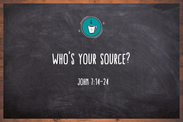 Who's Your Source?