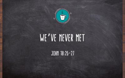 We've Never Met