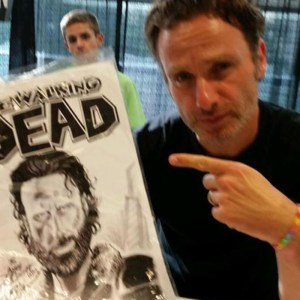 "Andrew Lincoln ""Rick"""