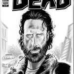 Rick Grimes Terminus Walking Dead Sketch Cover