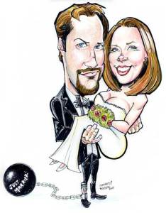 caricature events parties