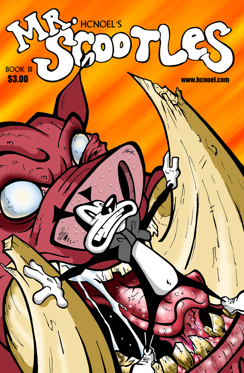 Mr. Scootles Issue 3 Cover