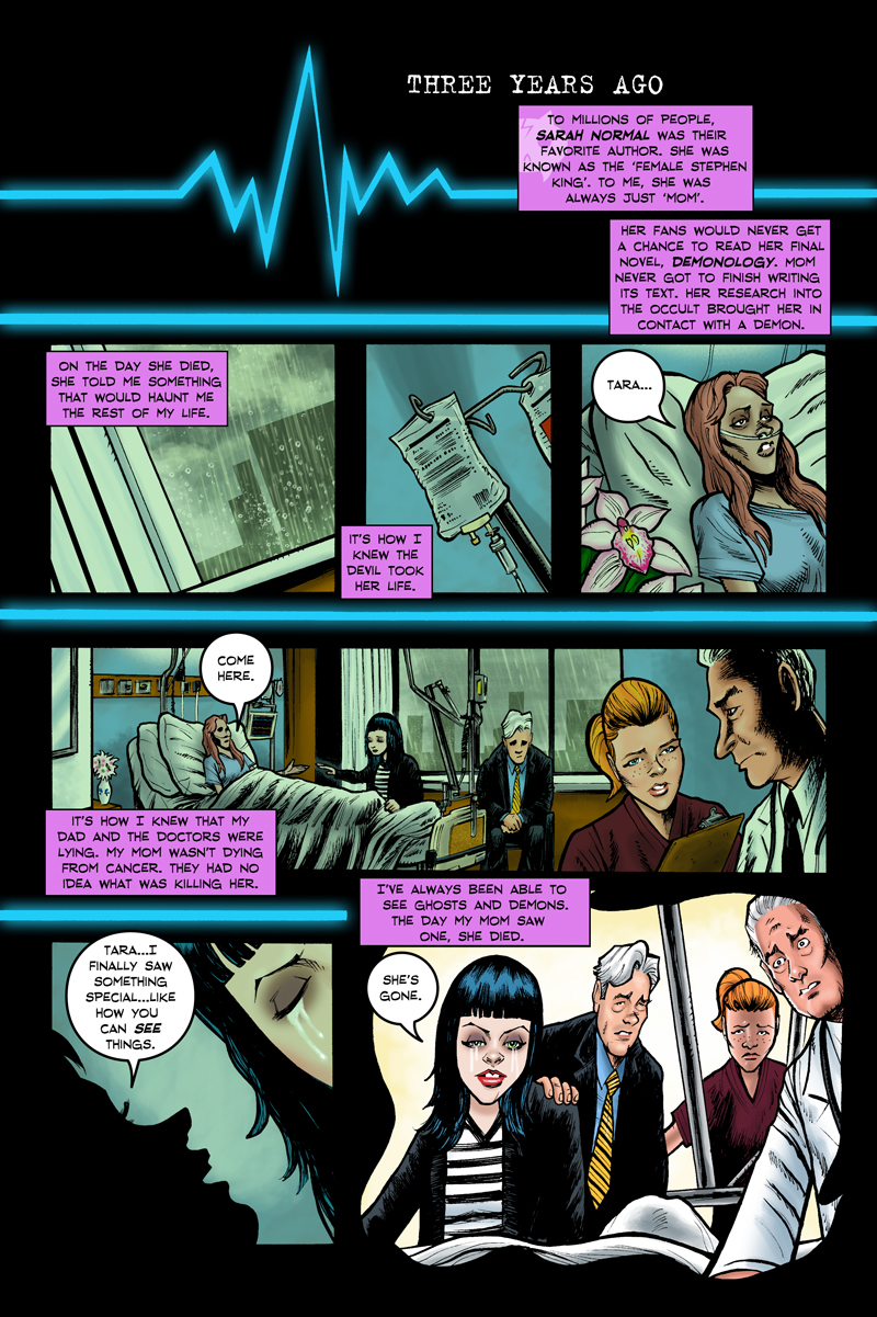 Tara Normal Issue 3 Page 001
