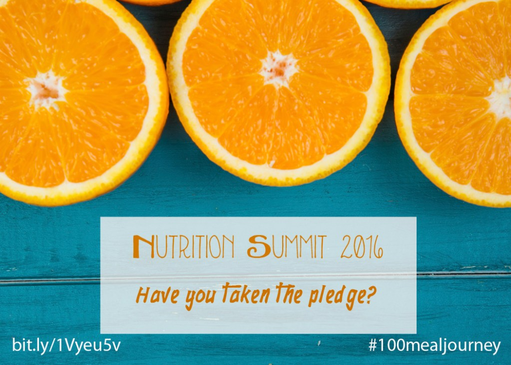 Have you taken the pledge? Join us on a #100mealjourney