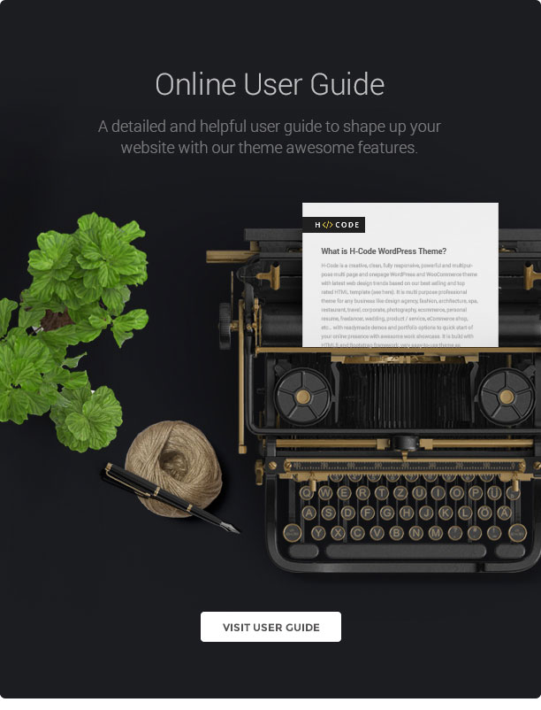 H-Code Responsive & Multipurpose WordPress Theme - 22
