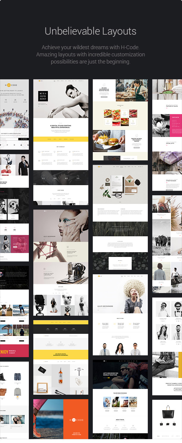 H-Code Responsive & Multipurpose WordPress Theme - 14