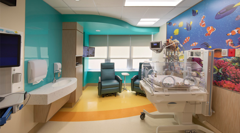 Skanska Completes Renovation of Private Florida's Children's Hospital