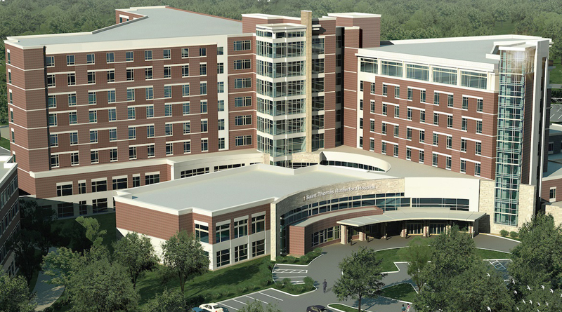 Saint Thomas Rutherford Hospital Begins Large Expansion